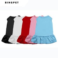 assorted clothes - Blank Plain small and large Pet Dog Cat Dress Skirt Clothes Costume colors assorted in all sizes