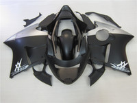Wholesale New Injection ABS Fairing Kit For HONDA CBR1100XX Blackbird CBR XX CBR1100 XX black silver