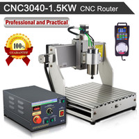 Wholesale Jingyan CNC3040 KW Rouer Engraver Drilling milling Engraving Machine Wood PCB Hot Selling Axis Router Desktop Router Machine