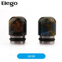 Wholesale Aleader Resin Drip Tip AS109 Drip Tip mm H x mm D Random Colors