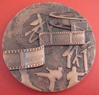 antique enamel box - National engravable pressing swirl edge aluminium alloy antique gold hard enamel custom metal commemorative coin souvenir medal