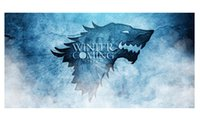 beach games adults - Game of Thrones Winter is Coming Style Bath Towel Custom x140cm Large Soft Absorbent Bamboo Fiber Beach Towel