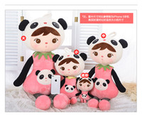 Wholesale Hot sale New cm Metoo Cartoon Stuffed Animals Angela Plush Toys Cute Dolls Girl Birthday Christmas Gifts