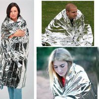 acrylic thermal blankets - 1pcs Hot portable proof emergency foil blanket thermal space new