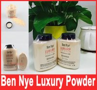 Wholesale 2016 Hot Sell Brand Ben Nye LUXURY POWDER POUDER de LUXE Banana Loose powder oz g with series code