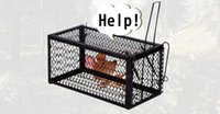 Wholesale Mouse cage trap mouse mouse cage home mousetrap catching and killing the mouse with continuous mouse trap