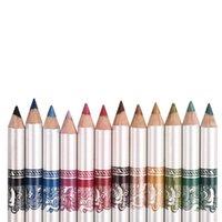 best fades - Eyeliner Pencils Colors Wooden Lipliner Pen Fading Nature Long Lasting Makeup Cosmetic Tools Best price