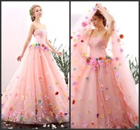 amazing baby pictures - Quinceanera Gown Baby Pink Hand Made Flowers Princess Beautiful Gorgeous Amazing Design Floor Length Strapless Neck Elegant Lace Up Back