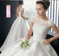 Cheap 2016 Arabic Strapless white ivory Sweetheart Bridal Ball Gown Wedding Dress Formal Gown Free Shipping with sleeve lace Plus Size Bridal