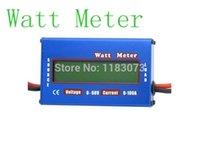 Wholesale Digital LCD Watt Meter For DC V A Balance Voltage RC Battery Power Analyzer