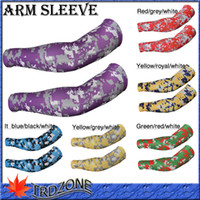 Wholesale Purple Grey White Camouflage Arm Sleeve by Driven Sports
