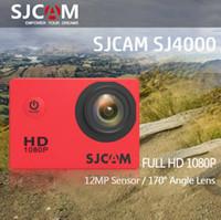 Wholesale new Original SJCAM Series SJ4000 Action Camera Waterproof Camera P HD Sport DV DHL