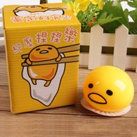 Wholesale Weibo with milk will vomit yellow yolk brother unpack artifact whole deceptive toy nausea pinching a lazy eggs