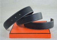 Wholesale New fashion brand belt quality leather belt men with high quality alloy h belt