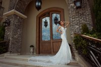 galia lahav - Galia Lahav Luxury Style Mermaid Wedding Dresses V Neck Off Shoulder Lace Layered Tulle Chapel Train Bridal Gowns Tiered