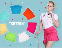 Wholesale PGM Womens Golf Skirt Sport Short Ladies Golf Clothing Faldas Golf Female Pantskirt Skirt Apparel Clothes Outdoor Golf Skirt