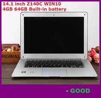 atom computers - inch ultrabook slim laptop computer Itel Atom X5 Z8300 Z140C Quad core laptop GB GB WIFI Windows laptop notebook