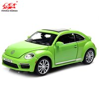 beetle toy car - 1 Model Cars Diecast Car Model Scale Toy Trucks Alloy Car Glow Speaker Pull Back Car Kids Toys Gift Items Volkswagen Beetle