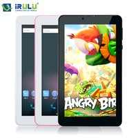 android tablet phone app - iRULU X2 quot Phablet Android Tablet Phone Call tablet G G GB Dual Core Dual Cam Download Google APP Play Wifi