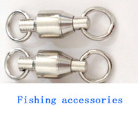 Wholesale swivel fishing Accessories tools brand new Ball Bearing Swivels fishing tackle