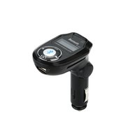 Wholesale BT303 Wireless Bluetooth FM Transmitter Stereo Modulator Car Kit MP3 Player quot LCD Car MP3 Hands free for Smartphone Tablet PC