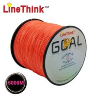 best goals - 5000M LineThink Brand GOAL Best Quality Multifilament PE Braided Fishing Line Fishing Braid