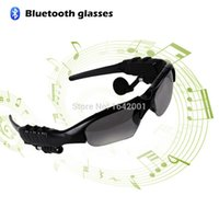 Wholesale New Smart Glasses Cycling Driving Sun Glass Sports Headset Wireless Bluetooth Sunglass For All Smart Phone