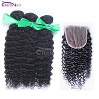 afro packaging - Indian Kinky Curly Hair with Closure Milky Way Afro Kinky Curly Hair and Closure Human Hair Weave Lace Closure with Bundles Packaged