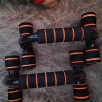 Wholesale A Pair of Push Up Bar Stands H Type Handles Fitness Enquipment Gym Home Muscle Training Tools