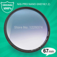 Wholesale NiSi mm Ultra Thin PRO NANO GND16 Graduated GND ND Grey Gradient Filter for Digital DSLR SLR Camera mm LENS