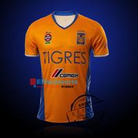 america uniforms - 2016 Copa America Mexico club Tigres Soccer jerseys home away Uniforms camisas de futebol GUERRON SOBIS GIGNAC football shirts