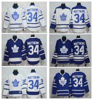 Wholesale 2016 Draft hot sale Men s Toronto Maple Leafs Auston Matthews Hockey jersey High Quality Stitched Mix order Accept