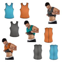 Wholesale 2016 New the Best Hot Mens Neoprene Sport Waist Cincher Vest Shapewear Bustiers Slimming Body Shaper Waist Trainer Corset