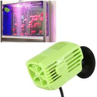 Wholesale Mini Marine Aquarium Wave Maker Fish Tank Water Circulator Circulation Pump AC V W L H Water Pumps mascotas