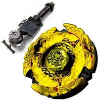 beyblade starter - 1PCS D Beyblade Metal Fight Hades Kerbecs Hell Kerbecs Metal Masters BB99 L R Starter Launcher Hand Grip Light Launcher
