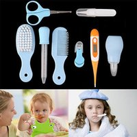 Wholesale Baby Grooming Health Care Manicure Set Baby Nail Care Practical Clipper Trimmer Convenient Daily Baby Hair Brush Care Kits