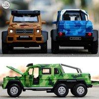 brabus - 1 Hot Sale Children alloy toy car model Mercedes BRABUS AMG x6 boomerang alloy models boy gifts