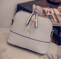 Wholesale New Women Shell Shoulder Bags Casual PU Fashion Ladys Crossbody Messenger Bag Buckle Pad Phone Money Wallet Handbags Top Quality