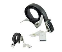 belt display stand - Mirror silvery Metal Belt Holder Stand Belt Display Rack Belt Rack Stand belt holder rack