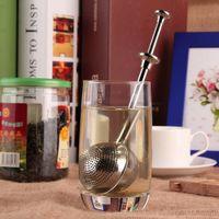 Wholesale Stainless Steel Locking Spice Tea Ball Strainer Mesh Infuser tea strainer Filter infusor