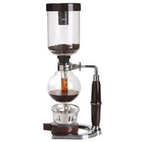 Wholesale 2 Cups Syphon Vacuum Coffee Maker Coffee Making Machine with Refactory Borocilicate High temperature Resitance Glass