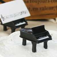 baby names pictures - Creative Piano Wedding Seats Clip Creative Name Note Picture Memo Photo Clip Table Decor Baby Shower Card Holder Stand ZA1310