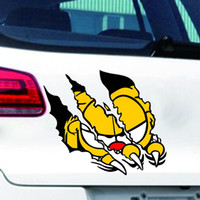 auto claw - Garfield Automobile motorcycles scratch door car stickers car stickers personality claws scratch Auto Car Walls Stickers exterior accessorie