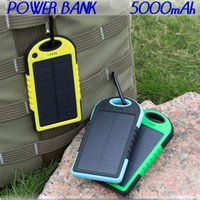 backup cell phone - Brand New mAh Universal USB Port Solar Power Bank Charger External Backup Battery For iPhone iPad Samsung cell Phone Charger