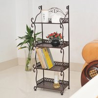 Wholesale Iron Multifunctional Toy Storage Shelving Rack for Vegetable Kitchen Bathroom Washroom Laundry