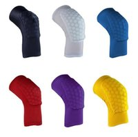 Wholesale new arrival Honeycomb Pad Crashproof Antislip Basketball Leg Knee Long Protector knee pads top quality