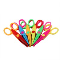 Wholesale DIY gallery for child safety manual handmade lace scissors scissors fun kindergarten