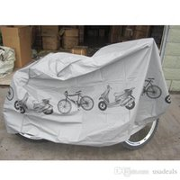 Wholesale New Grey Bicycle bike Cycling Rain and Dust Protector Cover Waterproof Protection Garage H8095