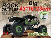 al por mayor 4x4 control remoto-Coche RC al por mayor-grande 2.4G 4CH 4WD Rock Crawlers doble motor de conducción de coches 4x4 coche de conducción de control remoto vehículo de juguete de vehículos