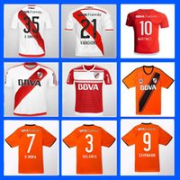 american rugby league - 16 River Plate Jerseys Shirt Sanchez Rodrigo Mora Batistuta Balanta Wholesalers Argentina league Jersey rugby Away Home